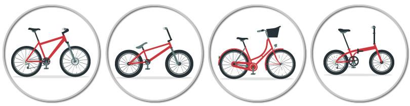 bisiklet türleri